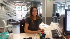 María Escudero. Historias compartidas. Ha hecho prácticas profesionales a través de Novia Salcedo.