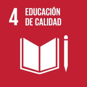 ODS - Objetivos de Desarrollo Sostenible - 4: Educación de calidad.