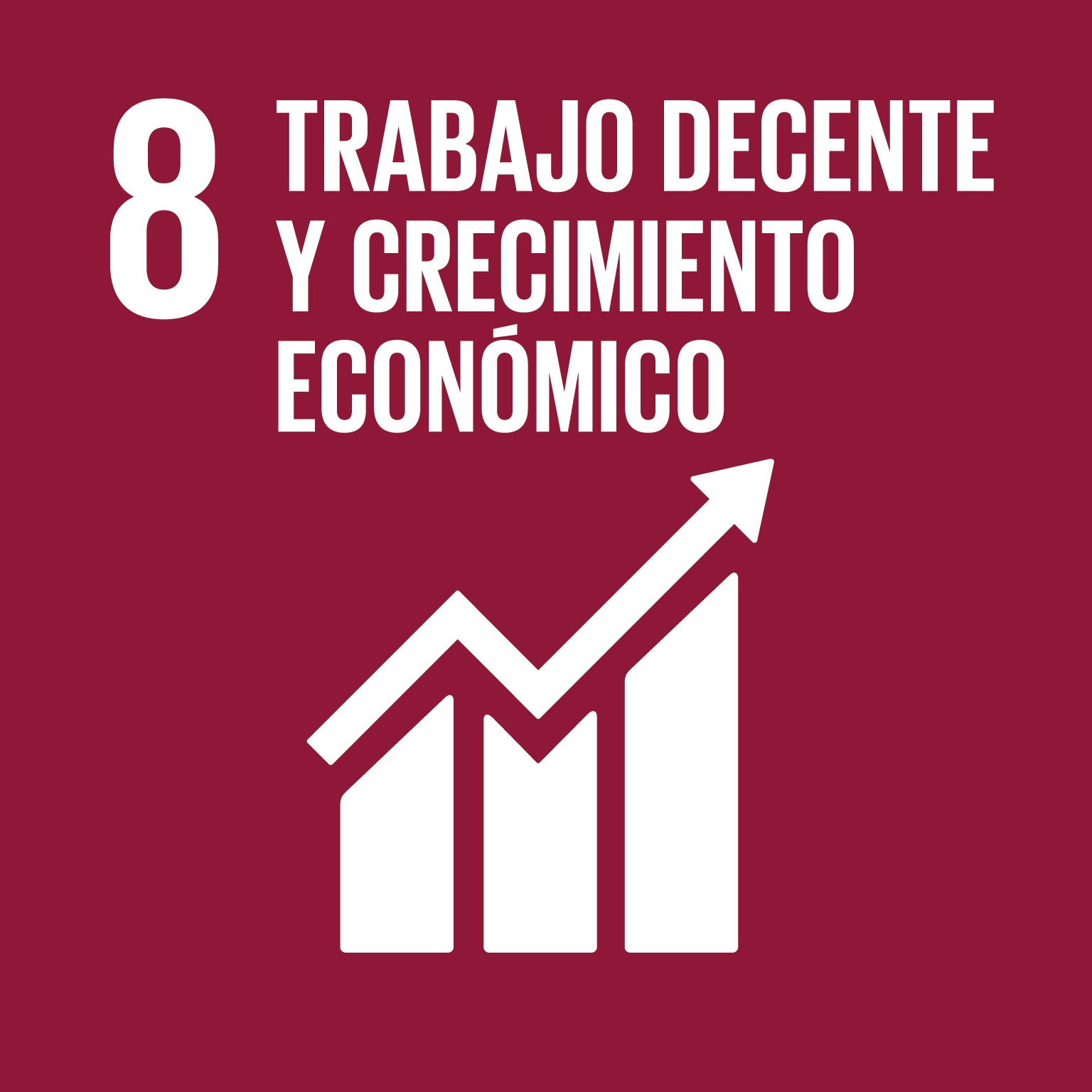ODS - Objetivos de Desarrollo Sostenible - 8: Trabajo decente y crecimiento económico.
