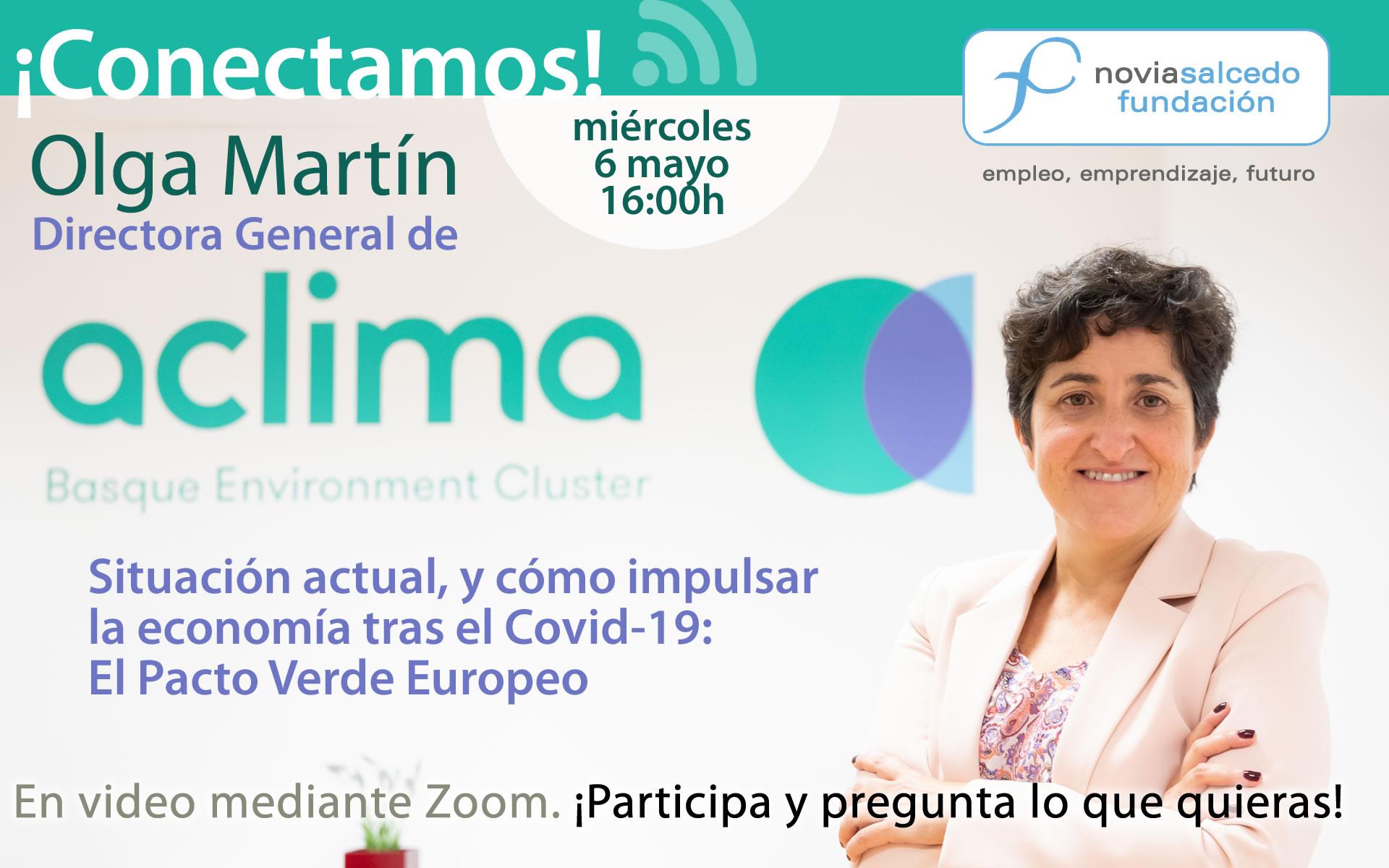 Conectamos con Olga Martín, Directora general de Aclima
