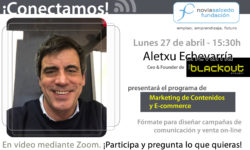 Aletxu Echevarría en Conectamos. Marketing de contenidos y E-commerce