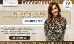 Conectamos con Barbara Martin, responsable de RRHH en Guardian