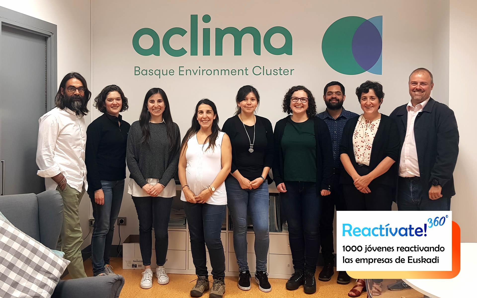 Becas Prácticas profesionales remuneradas en Aclima con Fundación Novia Salcedo.