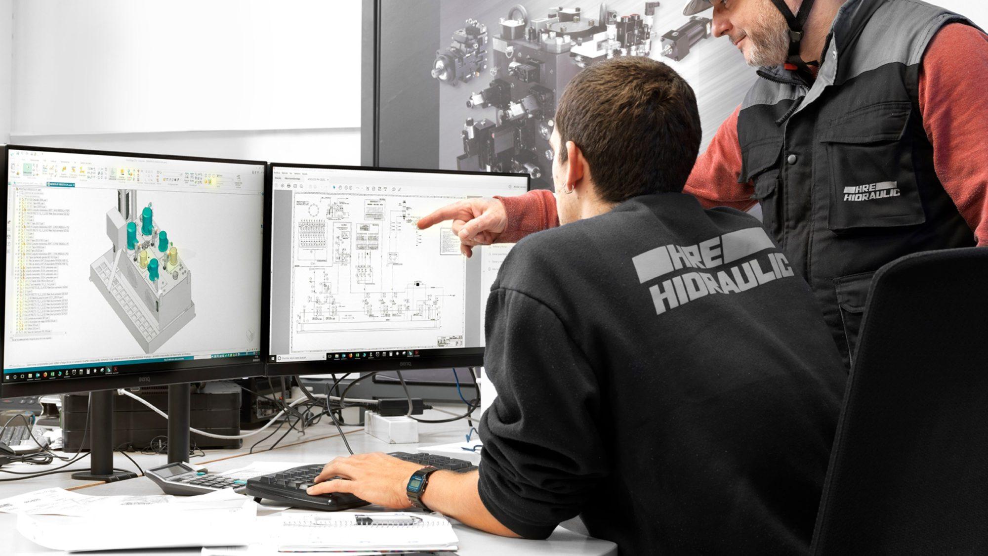 Becas Prácticas profesionales remuneradas en HRE hidraulic con Fundación Novia Salcedo