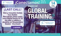 Becas global Training con Fundación Novia Salcedo